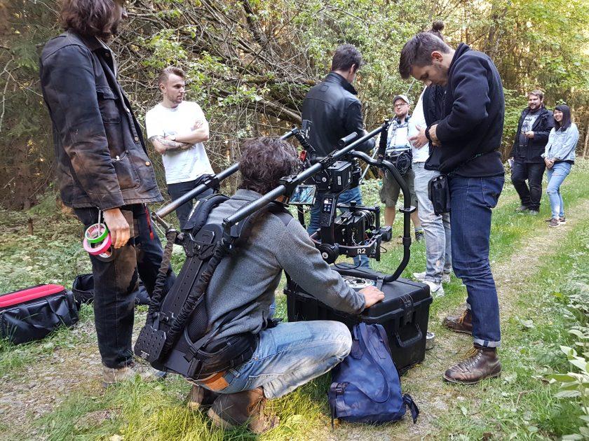 David Plummer on advertising set – film consultancy